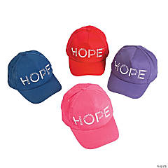 Hope Awareness Baseball Caps Assortment