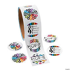 Hope Roll Stickers
