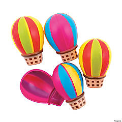 Hot Air Balloon Plastic Easter Eggs