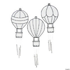 Hot Air Balloon Suncatcher Wind Chimes