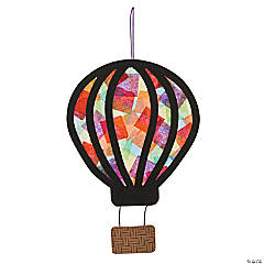 Hot Air Balloon Tissue Paper Craft Kit