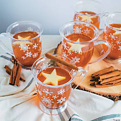 Hot Apple Cider Cocktail with Apple Star Cutout Recipe
