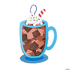 Hot Cocoa Tissue Paper Sign Craft Kit