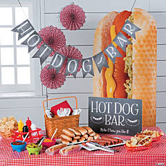Hot Dog Bar Supplies