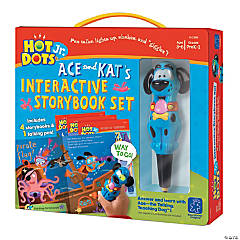 Hot Dots® Jr. Interactive Storybooks, 4-Book Set plus