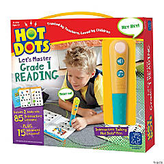 Hot Dots® Jr Let's Master Grade 1 Reading