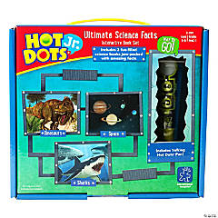 Hot Dots® Jr. Ultimate Science Facts Interactive Book Set With Pen