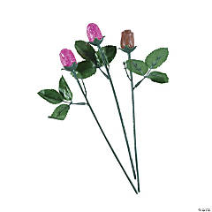 Hot Pink Mini Chocolate Roses