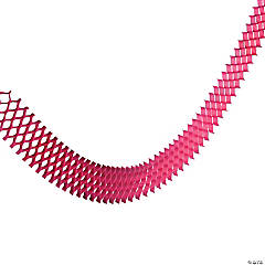 Hot Pink Net Garland