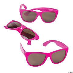 Hot Pink Nomad Sunglasses - 12 Pc.