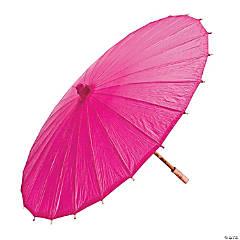 Hot Pink Paper Parasol