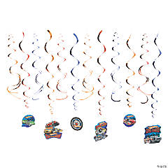 Hot Wheels™ Speed City Swirl Decorations