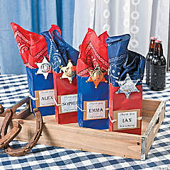 Howdy! Treat Bags Idea
