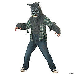 Howling at the Moon Werewolf Costume for Boys