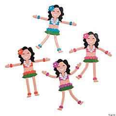 Hula Girl Bendables