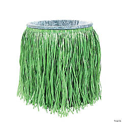 Hula Skirt Plastic Trash Can Cover