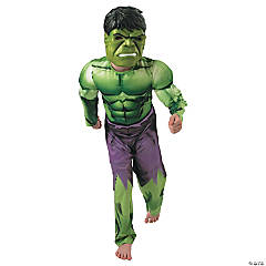 Hulk Muscle Costume for Boys