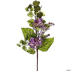 "Hydrangea Berry Spray 32""-Lavender"