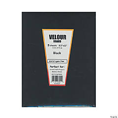 Hygloss Velour Paper Black