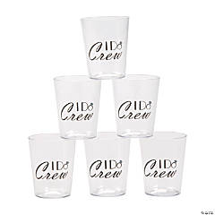I Do Crew Shot Glasses