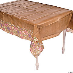 I Do Floral Paper Table Cover