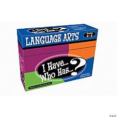 I Have, Who Has Language Arts Grades 4 to 5