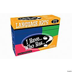 I Have, Who Has Language Arts Grades 5 to 6