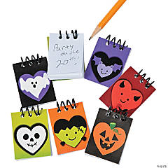 I Heart Halloween Mini Spiral Notepads