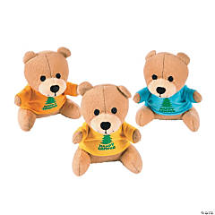 I Love Camp Plush Bears