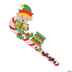 I Love Reading Elf Bookmark Craft Kit