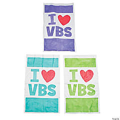 I Love VBS Potato Sacks