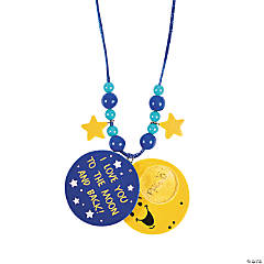 I Love You to the Moon and Back Necklace Craft Kit