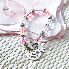 I Love You to the Moon Bracelet Idea