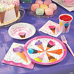 I Scream for Ice Cream Party Supplies