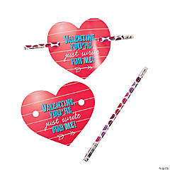 I Think You Are Just Write Valentine Pencils