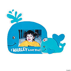 I Whaley Love You Picture Frame Magnet Craft Kit