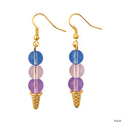 Ice Cream Cone Earring Craft Kit