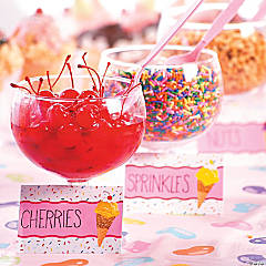 Ice Cream Party Printable Labels