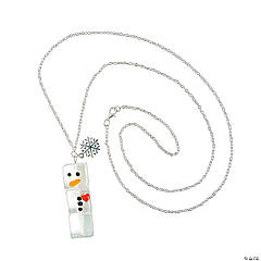 Ice Cube Snowman Necklace Craft Kit