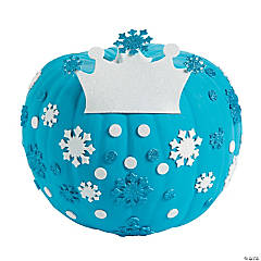 Ice Princess Pumpkin Decorating Craft Kit
