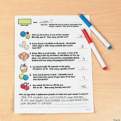 If You Were...Math Printable Worksheet