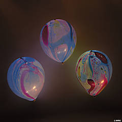 illooms® LED Balloons Marble Light-Up 9