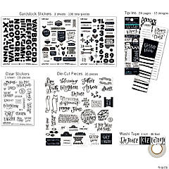 illustrated Faith Bible Journaling Kit-Faith Greater Than Fear