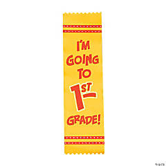 I'm Going to 1st Grade Graduate Ribbons