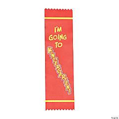 I'm Going To Kindergarten Graduate Ribbons