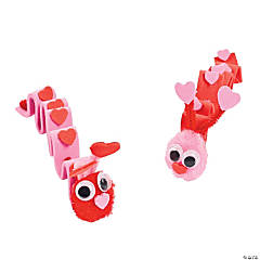 Inchworm Valentine's Day Craft Kits