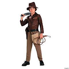 Indiana Jones Deluxe Boy's Costume