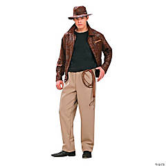 Indiana Jones Deluxe Standard Adult Men's Costume