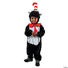 Infant Cat In Hat Costume For Kids