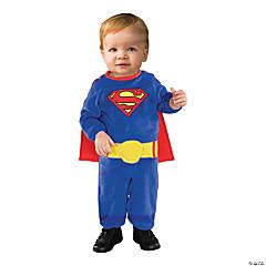 Infant Superman Romper Costume
